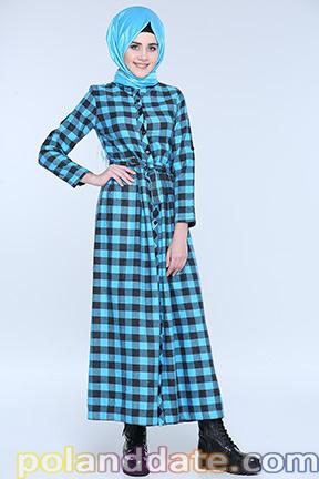 Tesettürlü elbiselerde eşarp kombineleri, tesettür elbise