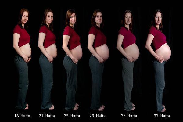 gebelikte karın büyümesi, karın gebelikte ne zaman büyür, gebelikte karın büyüme süreci
