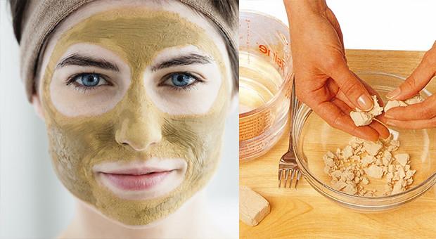 kuru maya maskesi, kuru maya maskesi yapımı, maya maskesi ile güzelleşme